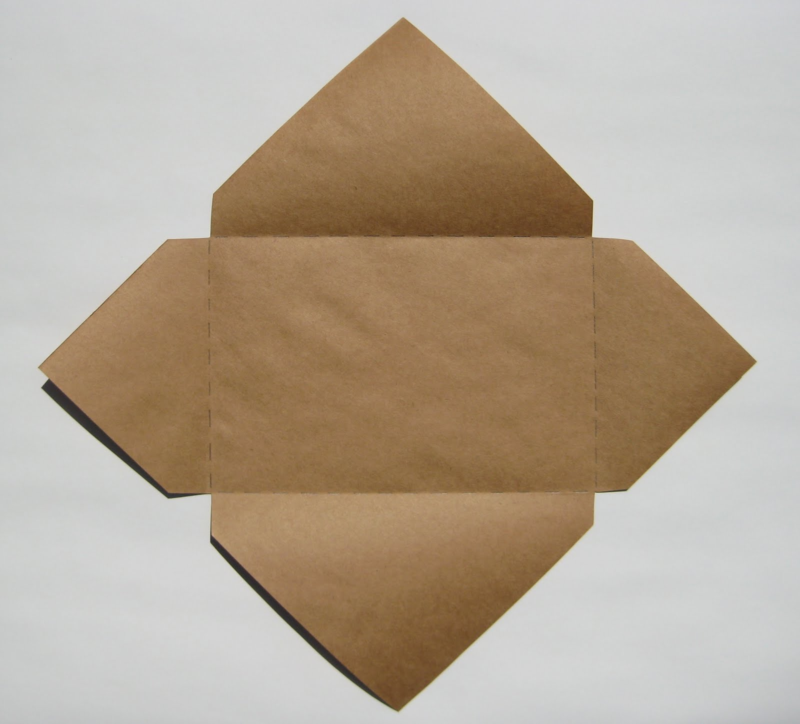 Easy envelopes for handmade cards teachkidsart dont even need to measure their paper they just need to understand the concept of starting with a square thats a little bit larger than the card bookmarktalkfo Images