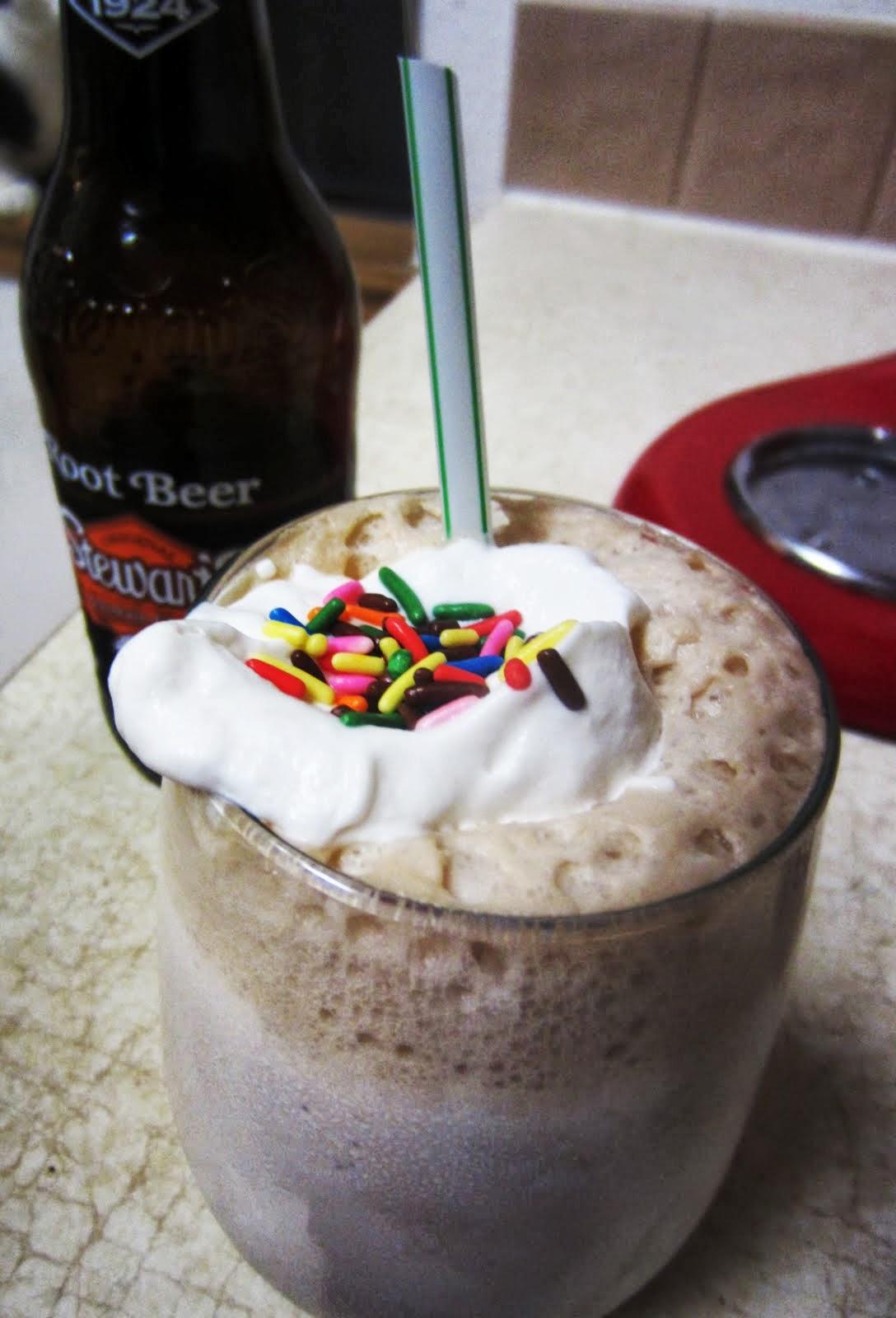 The Sweet Life: Spiked Root Beer Float Milkshake