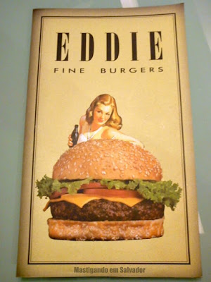 Eddie Fine Burgers: Cardápio