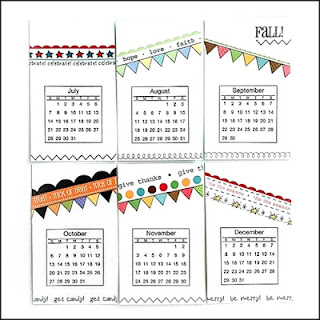 SRM Stickers Blog - New Products from SRM!  Day #1 - #minicalendars #2016 #yearofmemories #calendars #gifts #DIY