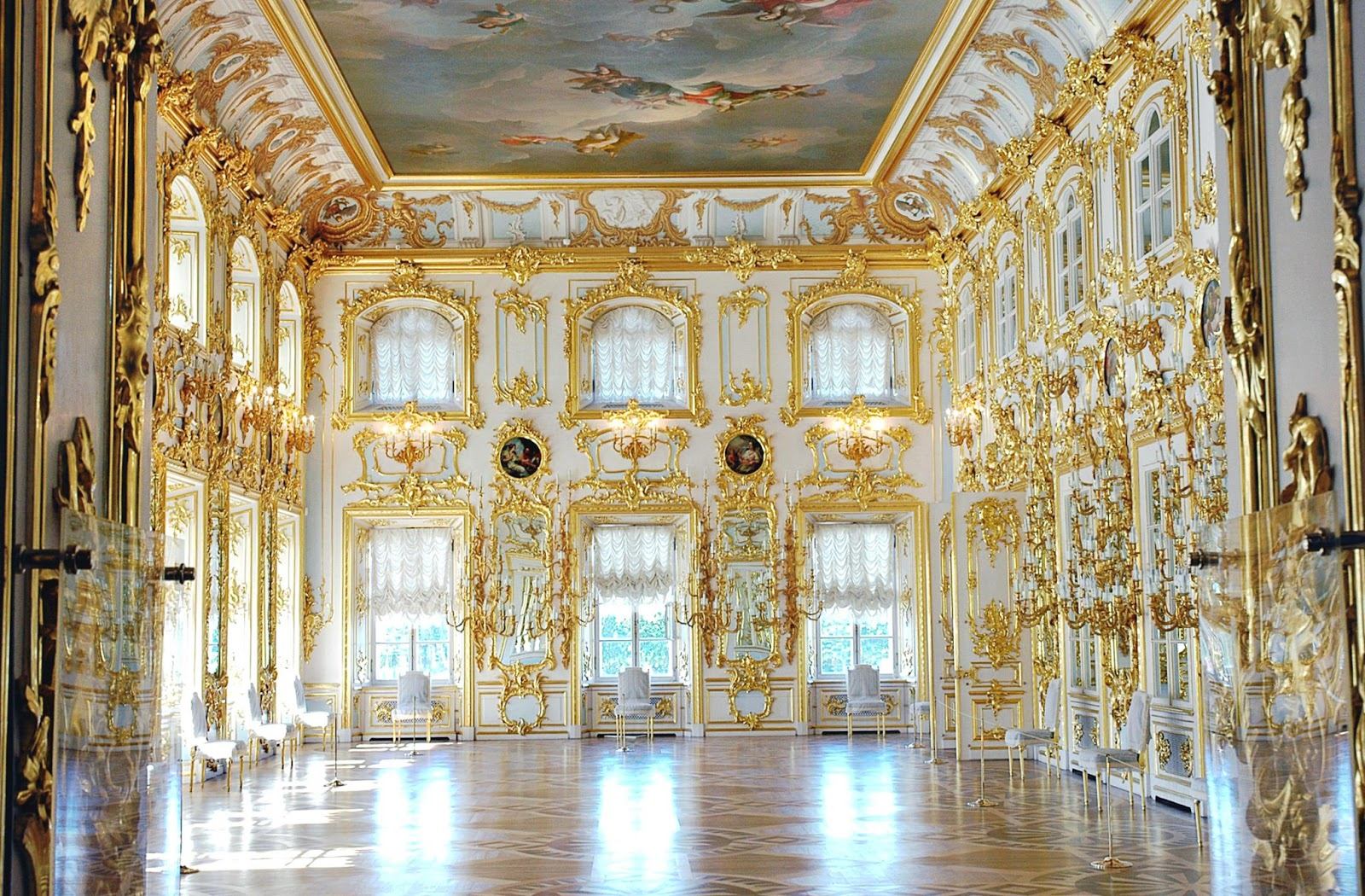Peterhof Russia  City pictures : ... voyage to Peterhof near St. Petersburg, Russia, Europe