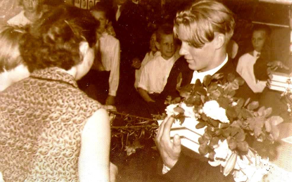 Pirmie pilngadības svētki Taurkalnes ( Valles ) ciemā 1959. gadā