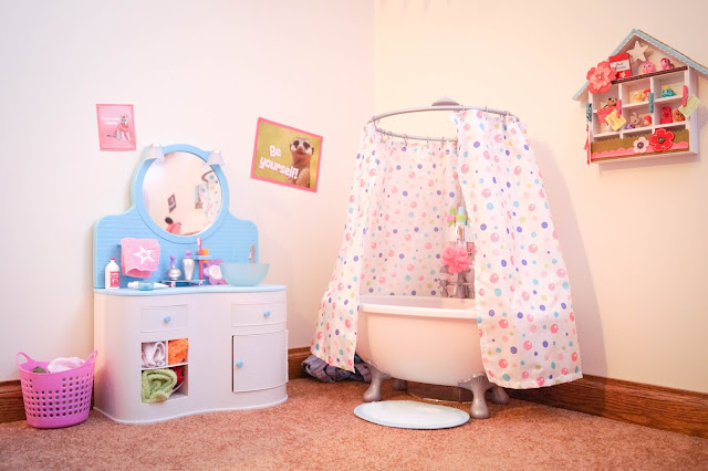 American Girl Doll Play Our American Girl Doll Playroom