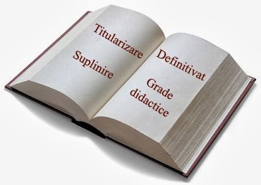 Subiecte si programe pentru titularizare, suplinire, definitivat si grade didactice