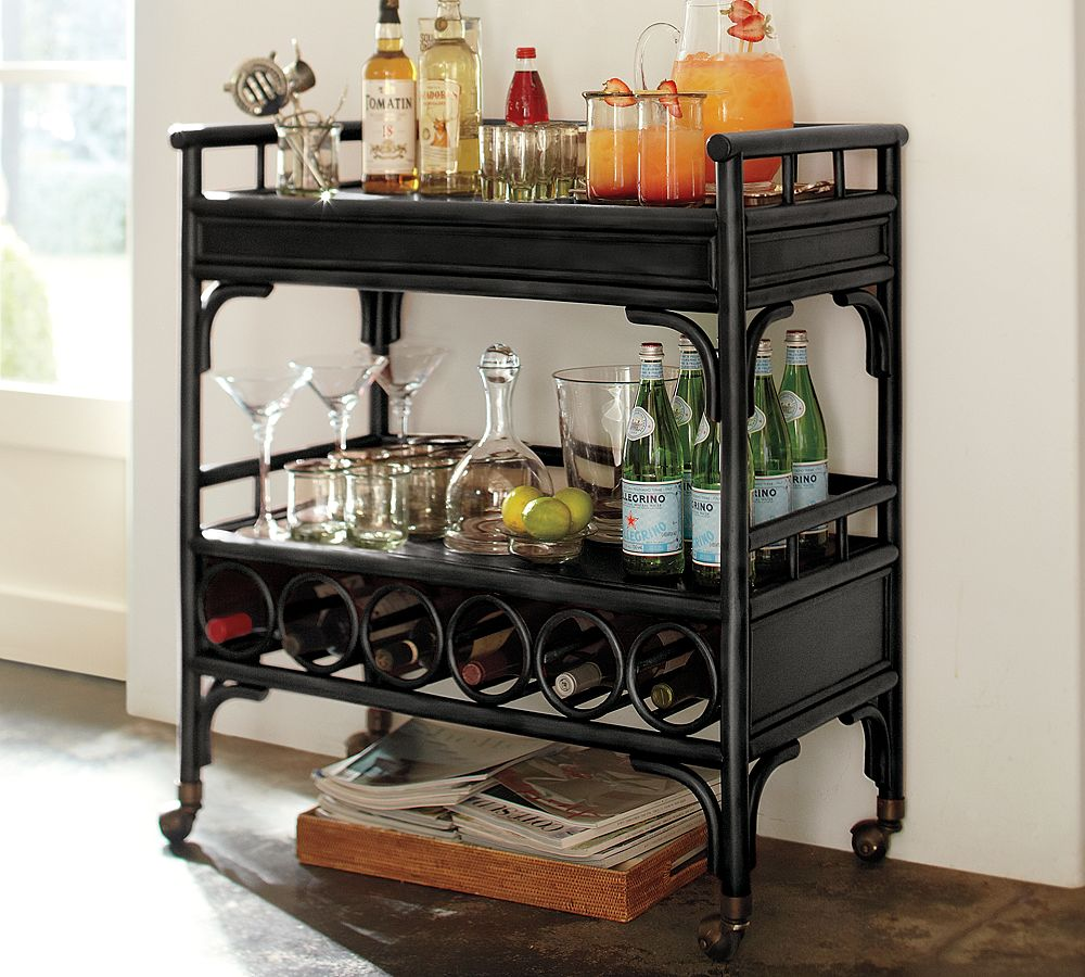 Haymarket Designs Friday FindChinoiserie Bar at Pottery Barn