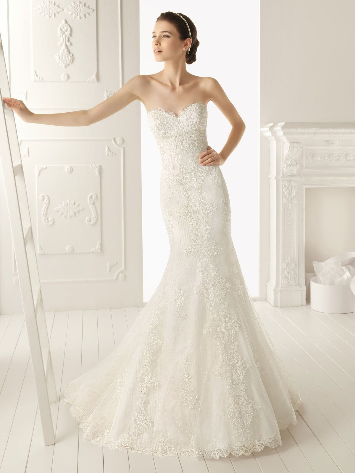 Lace Mermaid Wedding Dress 2013 - Missy Dress
