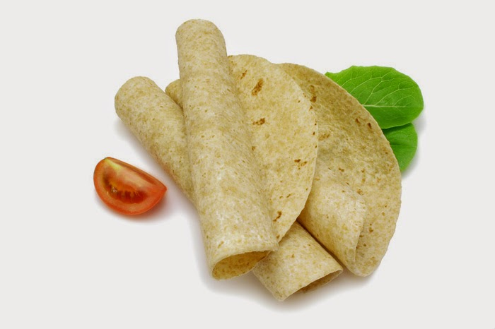 Recipe Tortilla wraps ala Nachos with salad