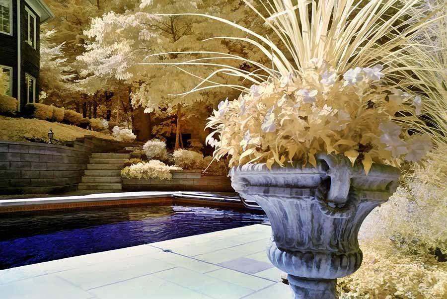 32. Infrared Pool by Kathy Cavallaro