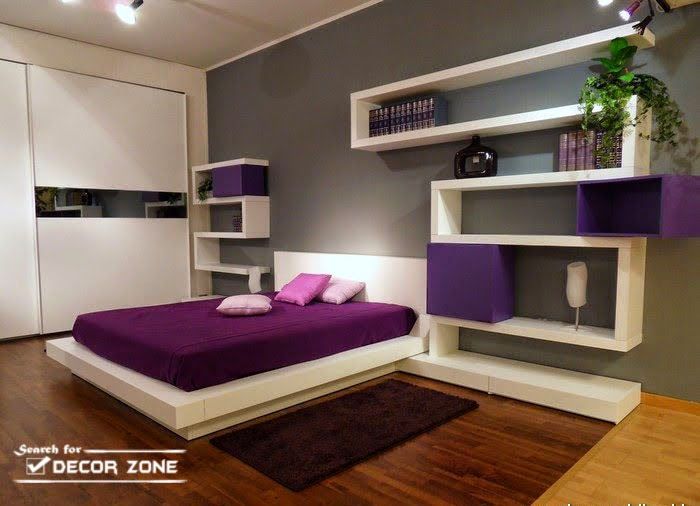 20 minimalist bedroom design ideas and tips for small rooms for Minimalist style bedroom