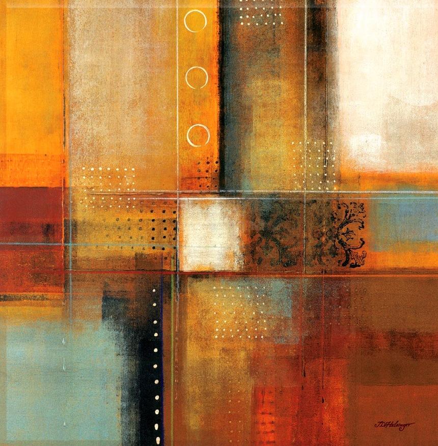 Cuadros pinturas oleos arte abstracto moderno decorativo for Pintado de salas pequenas