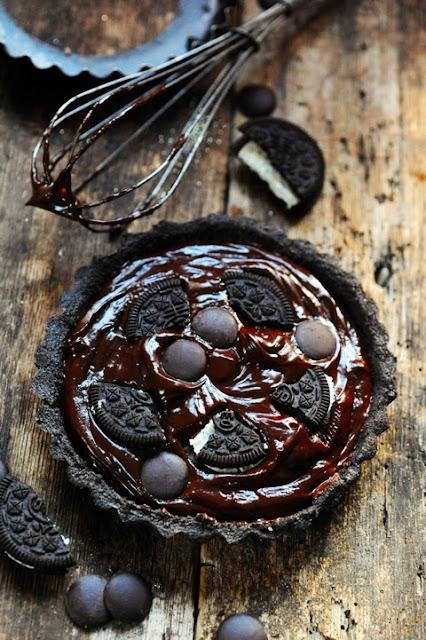 Tartelettes minut' OréO et chocolat, une recette qu'il me fallait là tout suite maintenant !