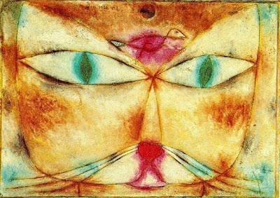 Gat i ocell (Paul Klee)
