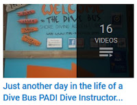 Day in the life of a Dive Bus, Curacao scuba instructor