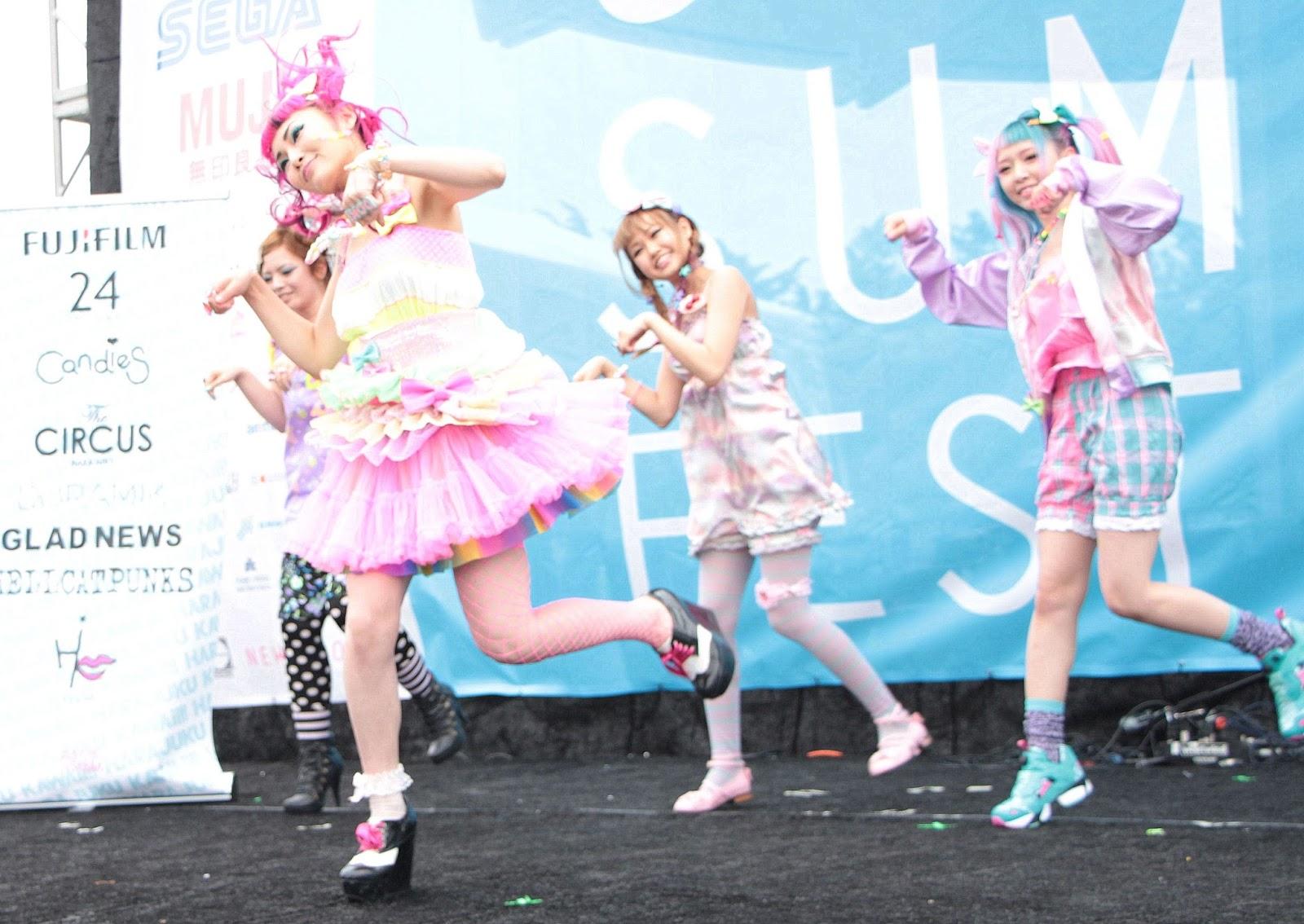 6% doki doki, j pop summit, yuka, kawaii, fashion, harajuku