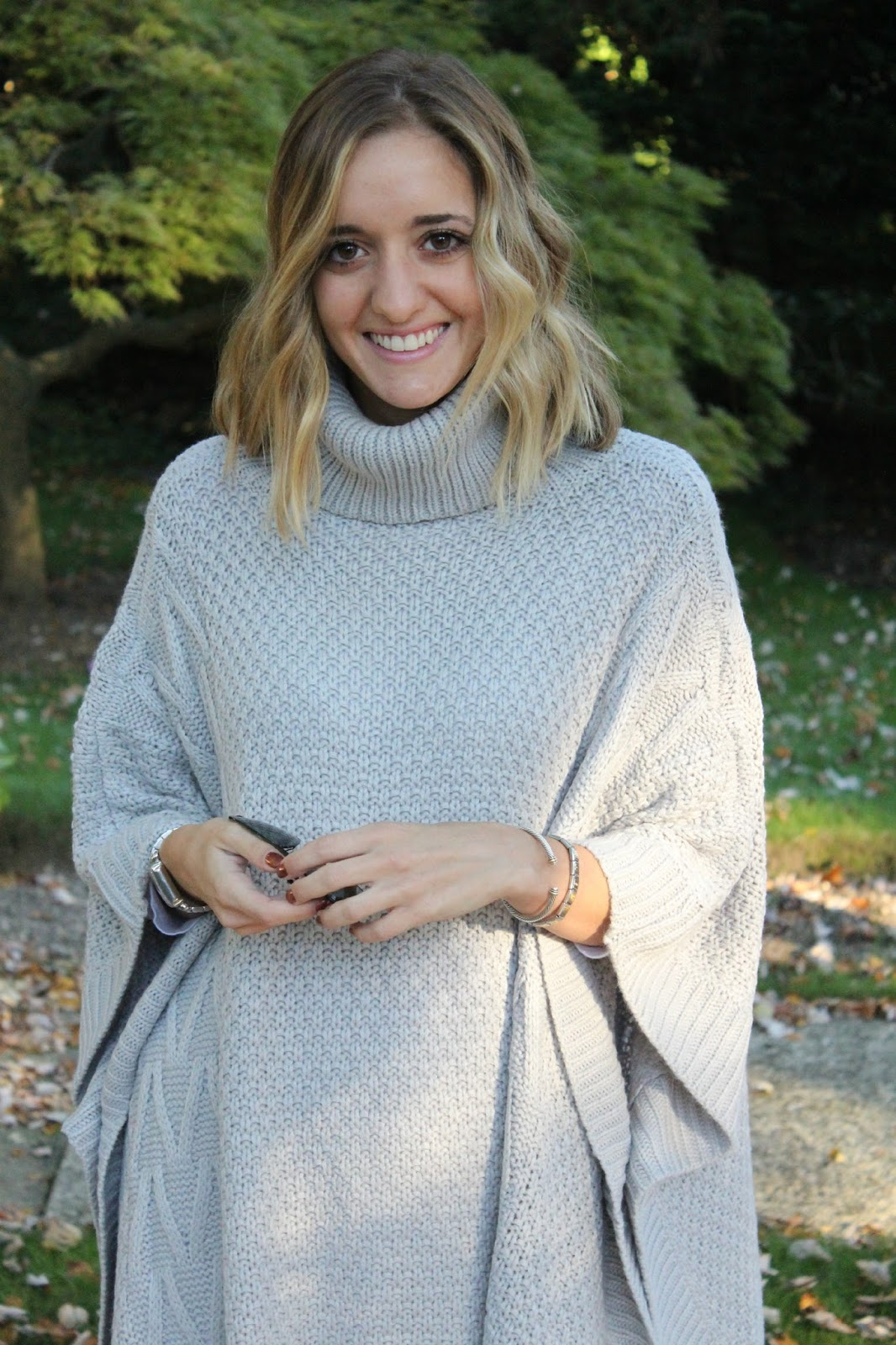 shein oversize gray sweater