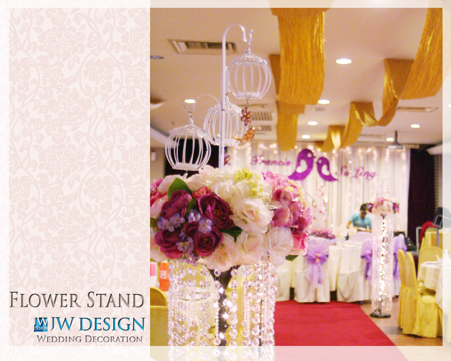 Jw design wedding decoration october 2011 francis su lings wedding v garden klang junglespirit Gallery