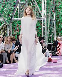 Sofia Mechetner Dior runway