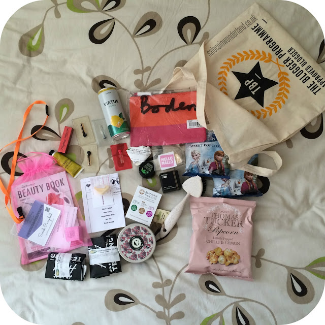 #nwbloggerevents goodie bag
