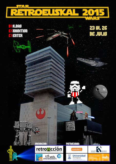 RetroEuskal 2015 se prepara para finales de mes con StarWars como tema principal