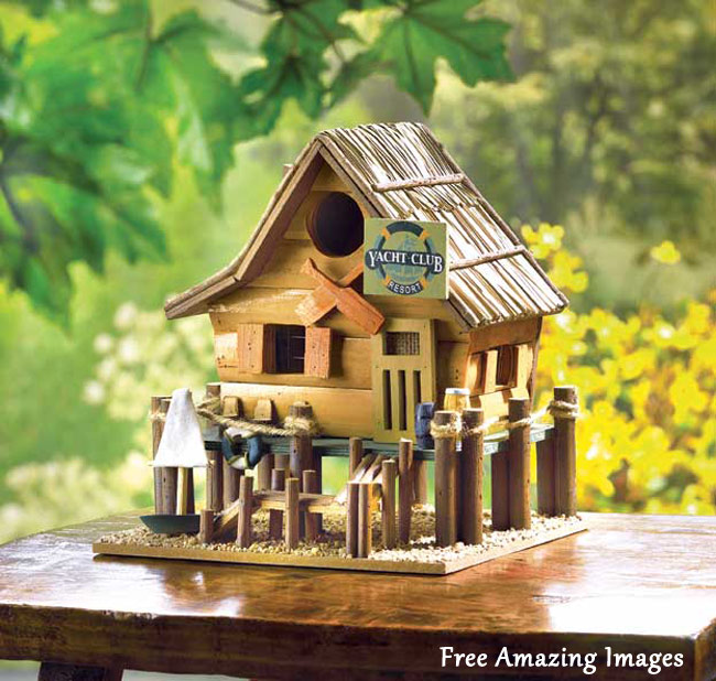 21 Most Unique Wood Home Decor Ideas: Free Amazing Images: 26 Best And Most Creative Bird House