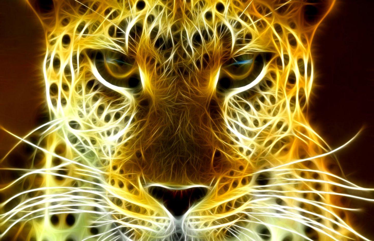 Golden Tiger Hd Wallpaper Wallpaper Background Hd