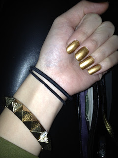 Orly solid gold swatch
