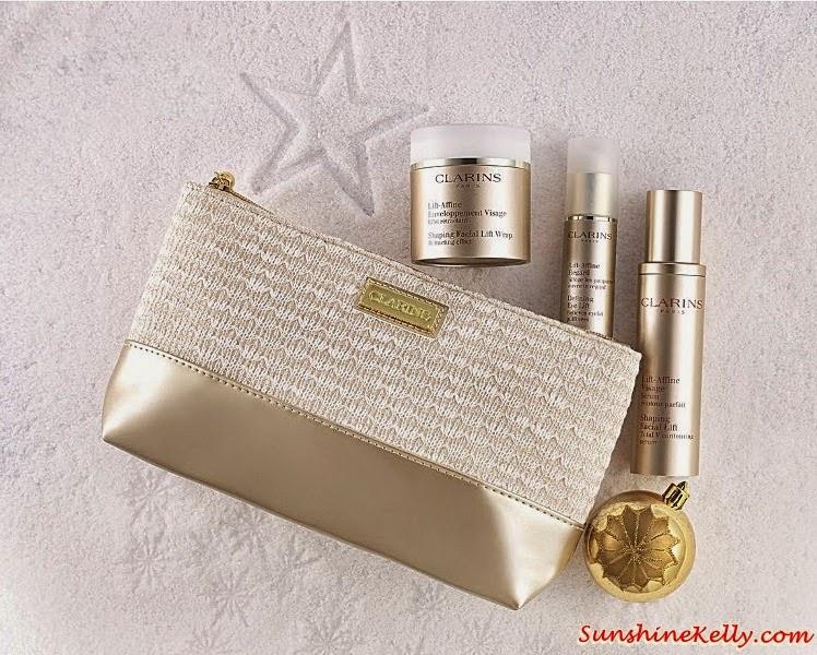 Clarins V Shape Essentials Set, Clarins Christmas set, Clarins gift set, Clarins, Clarins malaysia, Gift Sets, Christmas Gift,