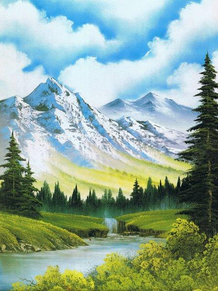 bob ross paintings by - photo #14