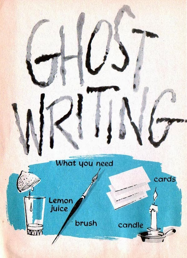 Ghost writer for school paper
