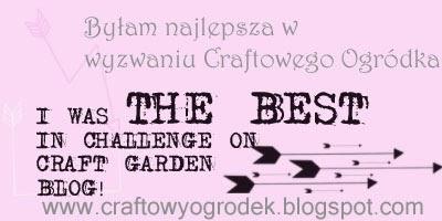 Najlepsza praca w Craftowym Ogródku
