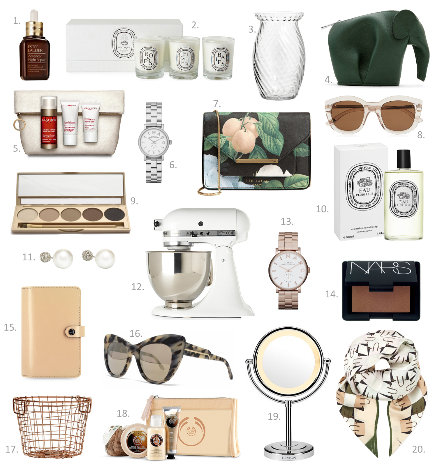 Fashion Blogger's Mother's Day Gift Guide 2015