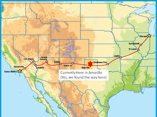 my route 66 adventure stop press  blog continues at
