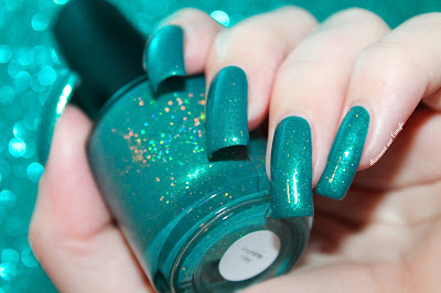 "Swatch of the nail polish ""Amphitrite"" from Lilypad Lacquer"