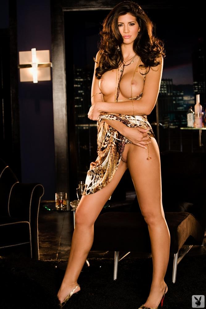 "Hope Dworaczyk - ""Playboy"" Naked Photoshoot 