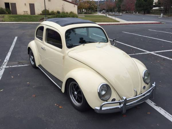 Classic 1960 VW Beetle Ragtop For Sale