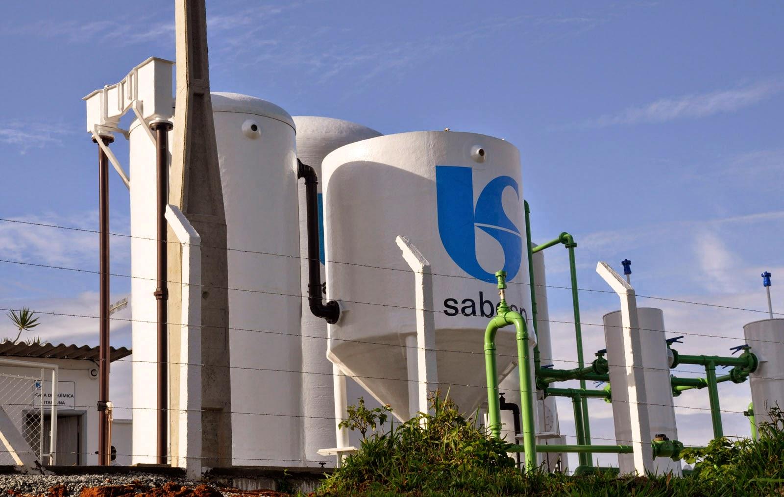 Estação de Tratamento de Água do Distrito de Itapeúna