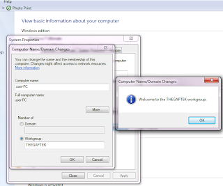 Cara Setting IP Jaringan dan Workgroup di Windows 7