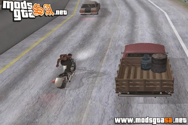SA - Mod Salto de Moto para Carro