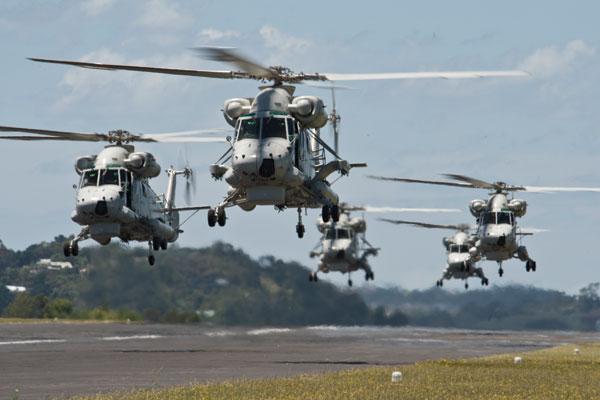 Helikopter Anti Kapal Selam Seasprite