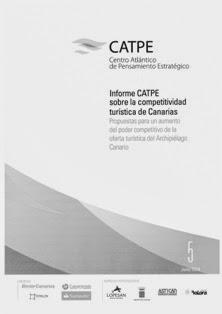 INFORME CATPE SOBRE LA COMPETITIVIDAD TURÍSTICA DE CANARIAS (JUNIO 2014)