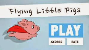 Download game Flying Litle Pig untuk Ios- Mirip Flappy Bird