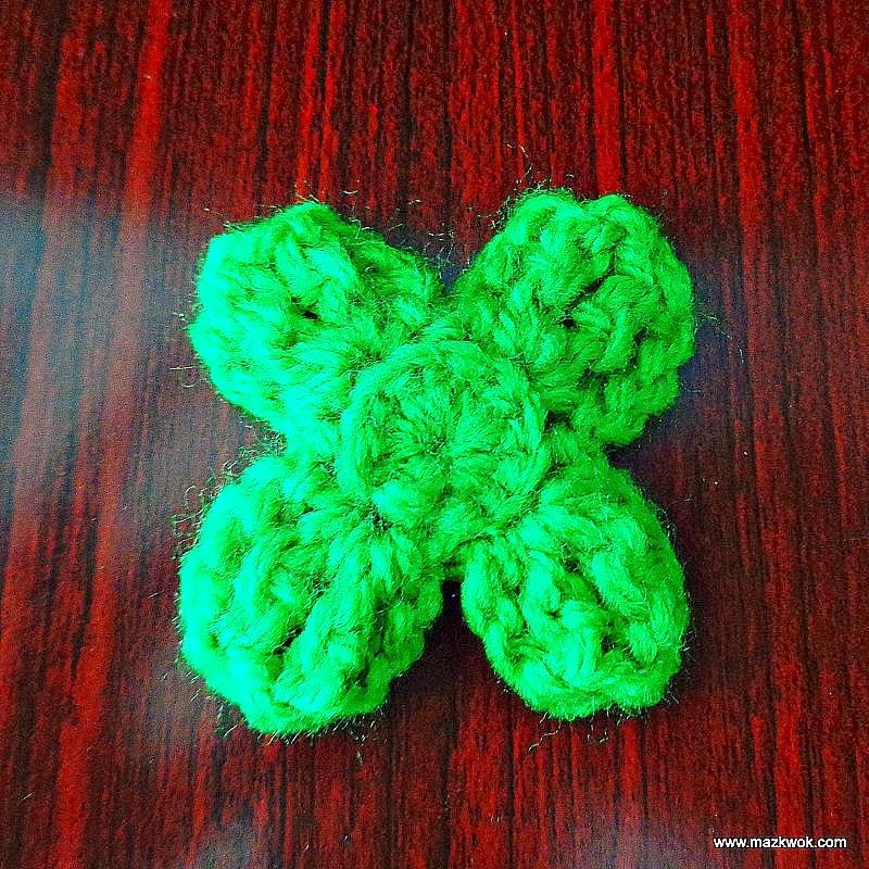 crochet back-loop