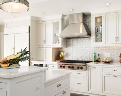 SeekingDecor Kitchens All White