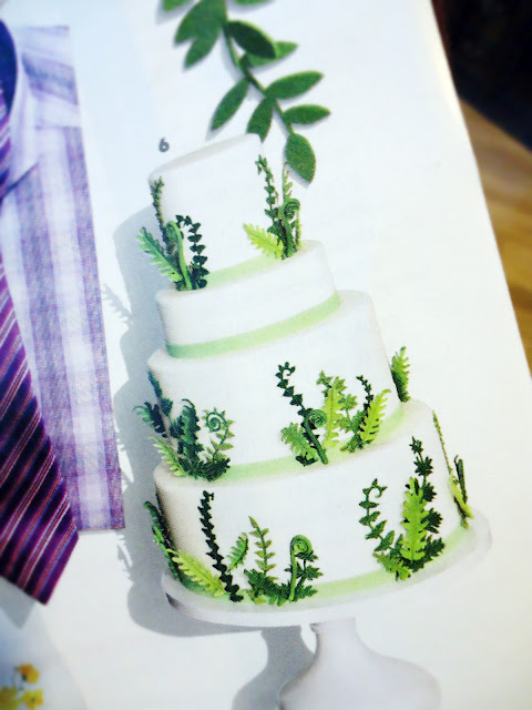 Brides Magazine: Elegantly Iced Cake