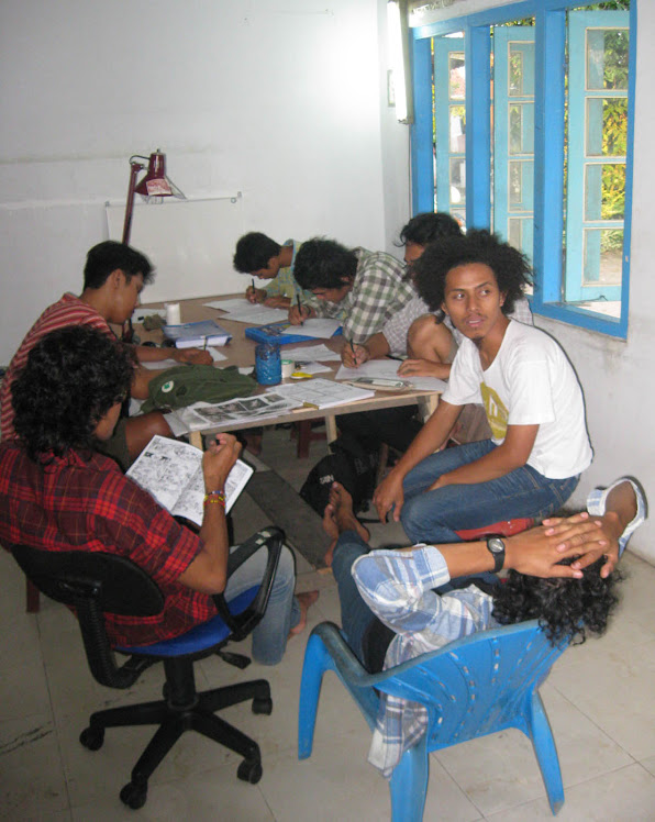 Suasana Workshop di Studio MK