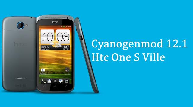 Cyanogenmod 12.1 custom rom for Htc One S ville