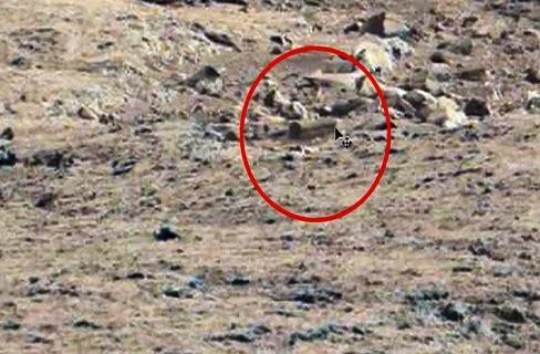 صورة لنعش الموتى على سطح المريخ تحير العلماء