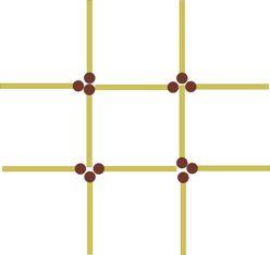 Ответы : Как вписать шестиугольник в квадрат?