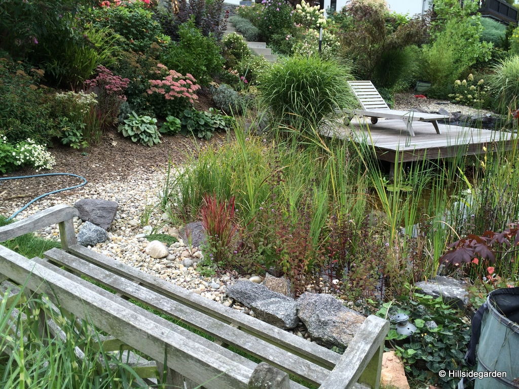 Hillsidegarden bines garten for Gartengestaltung joanna