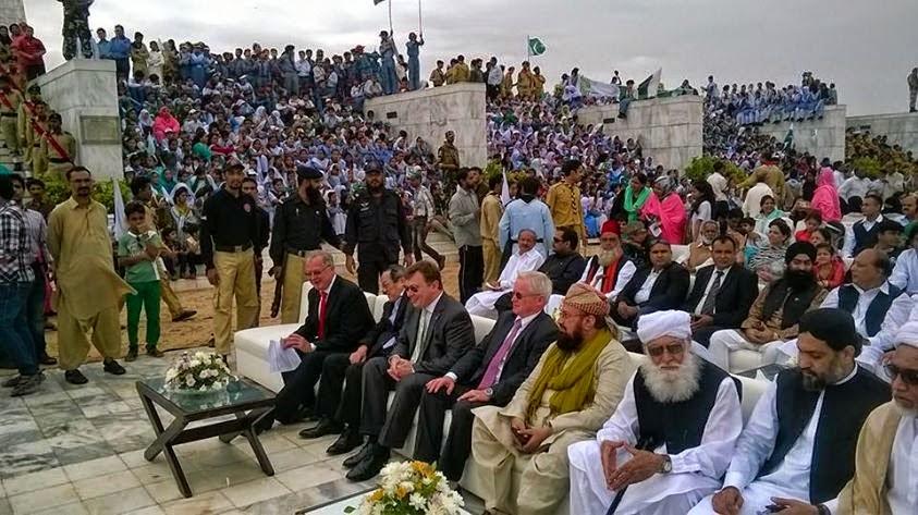 pakistan day celeberation quaid e azam mazaar kaukab noorani